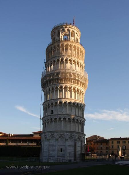 Пизанская башня, Пиза, Италия, фото