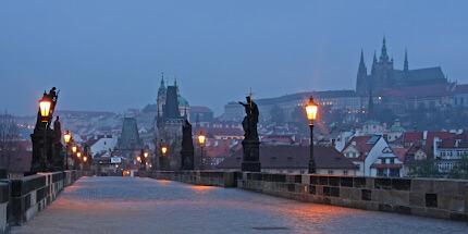 Фото Праги ночью