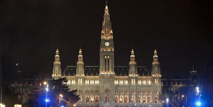Фото Вены ночью