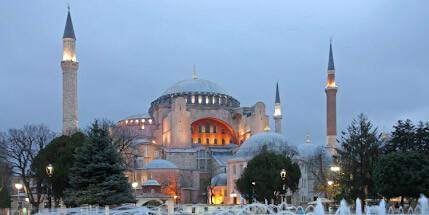 Зимний Стамбул